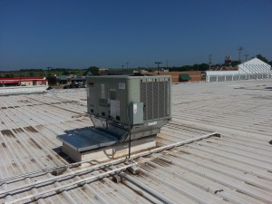 Gas - A/C Rooftop Packaged System