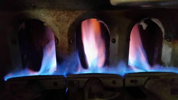 Burners needing maintenance